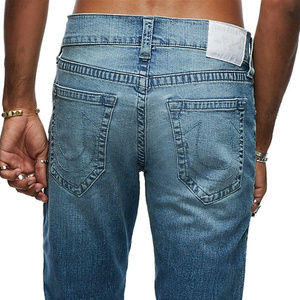 True Religion Men's Geno Slim Fit Stretch Jeans